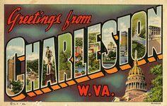Greetings from Charleston, West Virginia