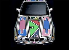 African Ndebele art- Awesome BMW Car art