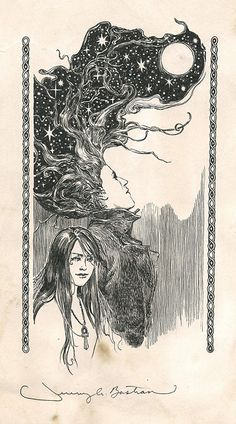 Dream & Death (Sandman) by Jeremy Bastian Comic Art