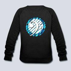 Bass clef Women's Sweatshirt