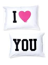 "Victoria's Secret Pink Pillowcase Set  $19.50 (this would be EPIC cause i want my room to be themed ""love"" :D )"