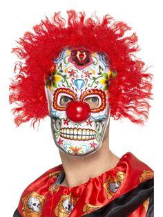 Day+of+The+Dead+Pelle+maski
