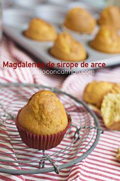Maple syrup cakes - Magdalenas de sirope de arce