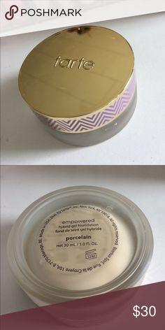 Tarte hybrid gel foundation used 3-4 times, a little goes a long way tarte Makeup Foundation