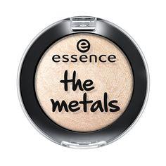 metallinhohteisen essence the metals -luomivärin sävy väri toistuu intensiivisempänä kun käytät kosteaa sivellintä värin levittämiseen.