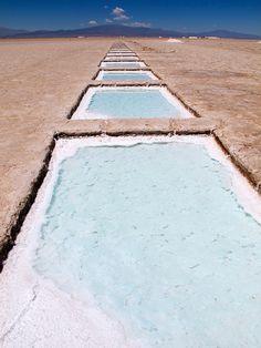 Salt! Argentina. by 1CheekyChimp, via Flickr