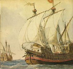 MINIATURAS MILITARES POR ALFONS CÀNOVAS: HISTORIA DE LA NAVEGACIÓN, 3ª PARTE .- por Rafael Monleón, Fuente = Museo Naval de Madrid
