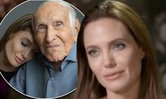 Angelia Jolie says she was 'scared' directing her new film Unbroken. she turned to WWII hero Louis Zamperini for support while filming biopic Unbroken
