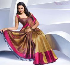 Stills On Net: Bhavana cute hd wallpapers, Bhavana in Kancheepuram Silk Saree