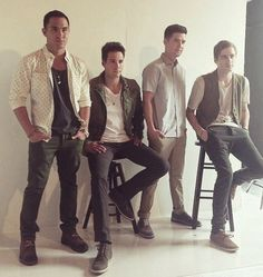 Big Time Rush... Yes I am still a child and watch their show now and then!