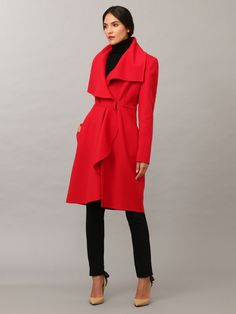 Wool Overcoat by Valentino at Gilt