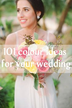 101 Wedding Colour Ideas for your Wedding!!!