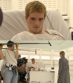 Josh Hutcherson as Peeta Mellark - Mockingjay part 2
