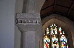 Chancel arch Coln Rogers St Andrew-051 Pellet decoration http://www.bwthornton.co.uk/visiting-stratford-upon-avon.php