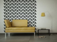 Wall Decal Geometric Triangle Abstract Symbol by WallStarGraphics, $150.00