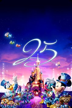 Happy Anniversary Disneyland Paris!