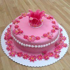 Pink crown for princess - Cake by Eva Kralova