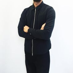 """tumblinginn: """"Very popular this week! MKI TASLON SHIRT in BLACK   £120   Our 8 piece collection features the MKI TASLON ZIP SHIRT & MKI TASLON MA1 in four colours   Available in store & online now… WWW.MKISTORE.COM #MKISTORE """""""