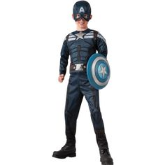 Choose Adult//Child Marvel Movie Captain America The Winter Soldier Retro Gloves