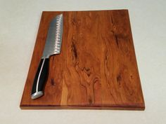 Spalding Maple Butcher Block cutting board. Handmade butcher block finished with all natural oils and minerals. Check out the shop and request a custom board for your next event!