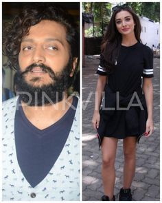 Riteish flaunts his Banjo look while Amy enjoys her freaky friday