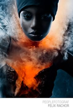 #brauty #glamour #glossy #skin #eyes #mouth #lipstick #glamurous #potrait #portraits #sexy #woman #colour #studio #starphotographer #photo #germany #fashion #fire #smoke #red #cold #hot