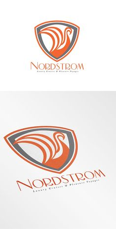 Nordstrom Pleasure Voyages Logo by patrimonio on @creativemarket
