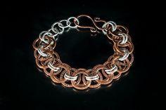 copper chain bracelet antique copper bracelet for by raflsjewelry
