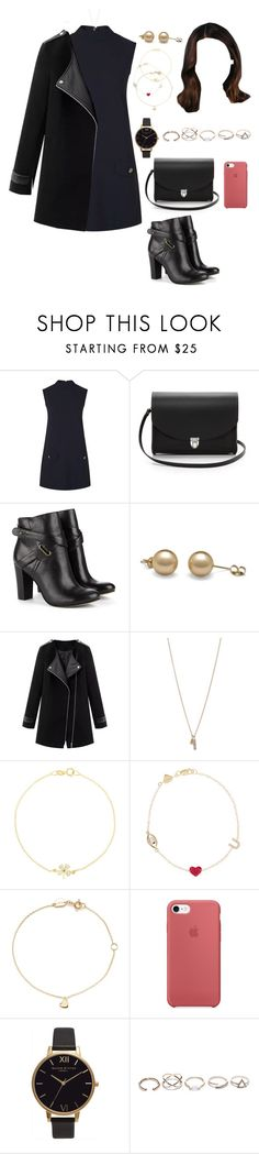 """""""Home (night/out/BBCLUB)"""" by ittgirl ❤ liked on Polyvore featuring Topshop, The Cambridge Satchel Company, Sole Society, Minor Obsessions, Jennifer Meyer Jewelry, Alison Lou, Estella Bartlett and GUESS"""