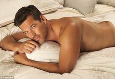 Eddie Cibrian   for Charisma towels & bedding