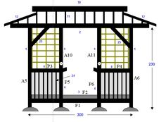japanese tea house designs | Initial teahouse plans and design