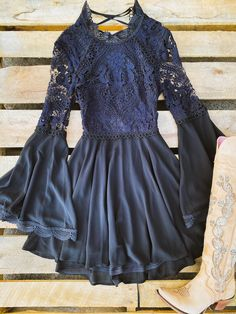 Cute Cowgirl Outfits, Cowgirl Dresses, Hippie Dresses, Western Dresses, Boho Outfits, Boho Dress, Country Chic Dresses, Country Girls Outfits, Formal Dresses With Sleeves