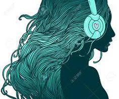 Image result for glitter DJ headphones graphics