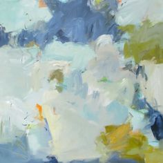 """Eileen Power's """"Secure Your Vessel"""" 48"""" by 48"""" at Gregg Irby Fine Art in Atlanta, Ga!"""