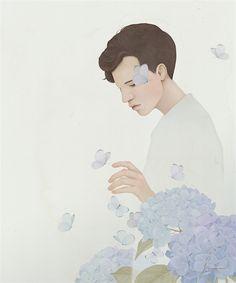 Jiwoon Pak - Blue butterflies (2016)