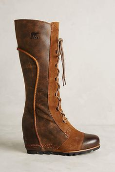 Sorel Cate The Great Wedge Boots - anthropologie.com