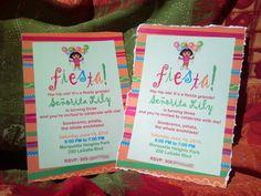 Dora fiesta birthday party. www.facebook.com/bahrnonedesigns