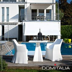 Made from recyclable material, Compass Table is suitable for outdoor use. #domitalia #table #arterandcitton Available at metropolitandecor.com  http://www.metropolitandecor.com/Compass-Table-Domitalia_p_1645.html