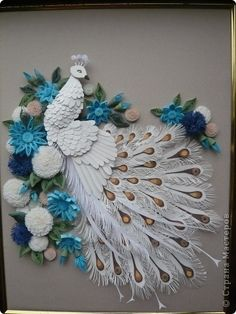 PEACOCK STYLE Quilling .. Discussion on LiveInternet - Russian Service Online Diaries