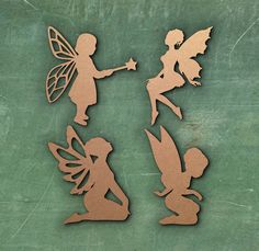 FAIRY PIXIE SIMPLE SHAPE LASER CUT MDF WOODEN SHAPE Wood Craft Arts Decoration  | Crafts, Woodworking, Other Woodworking Supplies | eBay!