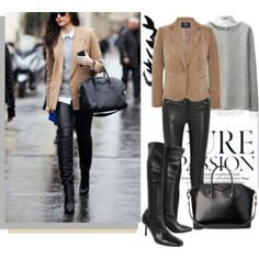 The top would need to change...but love this look for an edgy night on the town! (scheduled via http://www.tailwindapp.com?utm_source=pinterest&utm_medium=twpin&utm_content=post720779&utm_campaign=scheduler_attribution)