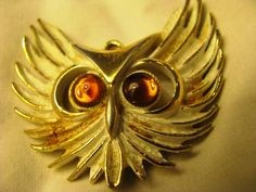 Hey, I found this really awesome Etsy listing at https://www.etsy.com/listing/93322231/1960s-owl-pendant-highly-figural-with