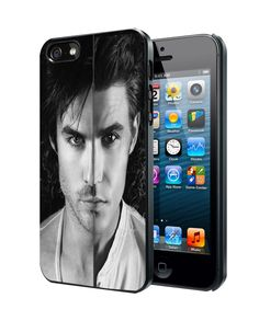 Paul Wesley And Ian Somerhalder-400233 Samsung Galaxy S3 S4 S5 Note 3 Case, Iphone 4 4S 5 5S 5C Case, Ipod Touch 4 5 Case