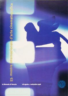 Manifesto Festival del Cinema di Venezia 1996