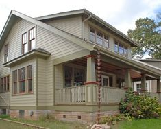 our tiny oak park bungalow color inspiration on my morning run historic homes color schemes pinterest parks mornings and on