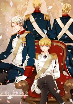 Tags: Axis Powers: Hetalia, Prussia, Germany, Bavaria, Axis Power Countries, kirii77, Germanic Countries, Hesse