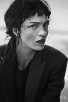 Mariacarla Boscono in Vogue Italy with Mariacarla Boscono - (ID:20626) - Fashion…