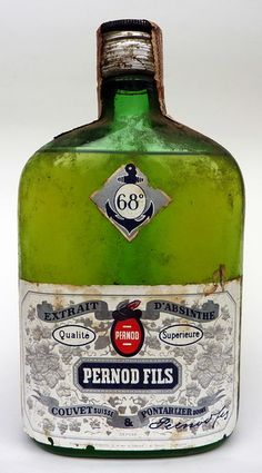 Absinthe - I understand that pre-1914 bottles of Pernod Fils are pretty much the standard for absinthe, but the currently produced absinthe from Pernod is really not the even the same thing.