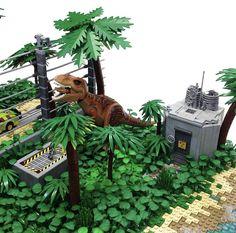 Lego Jurassic World, Jurassic World Fallen Kingdom, Legos, Lego Dinosaur, Lego Dragon, Lego Sculptures, Lego Craft, Diorama, Lego Worlds