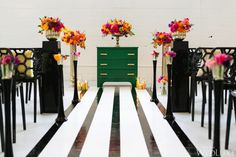 Wedding Ceremony | Inspired by All Things Kate Spade | WedLuxe